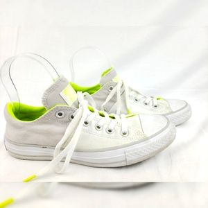 Converse White and Gray Sneakers 8